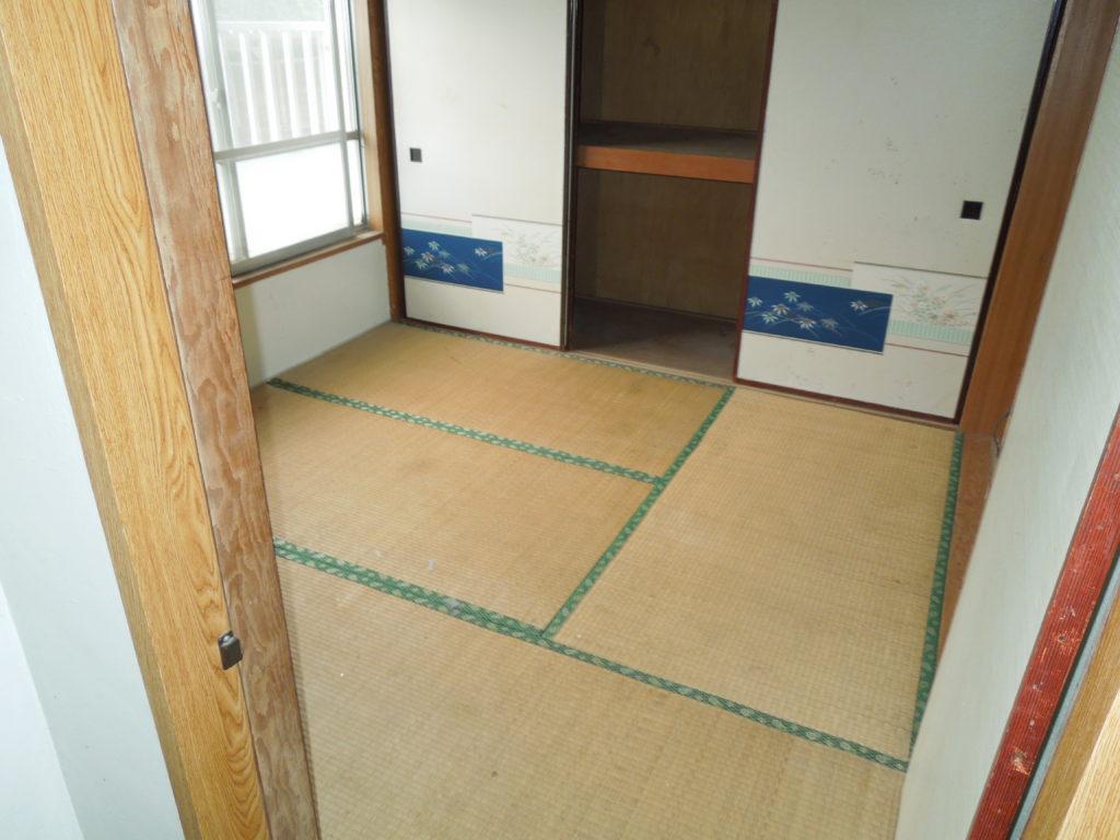 横須賀のゴミだらけの和室を片付けた後の写真
